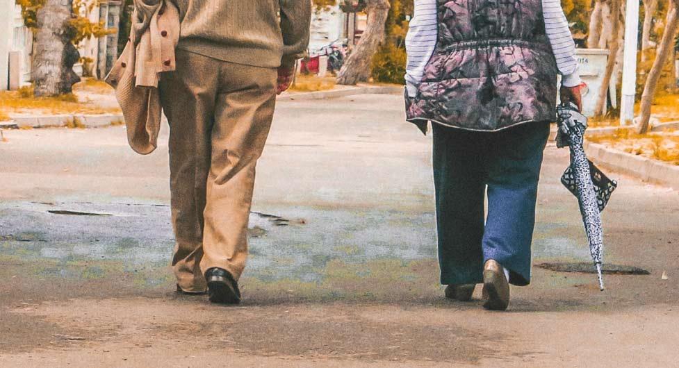 Podologia en personas mayores